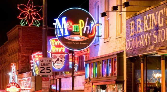Memphis, Tennessee - Beale Street