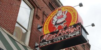 Miss Polly's Soul City Cafe - Memphis, Tennessee - Beale Street