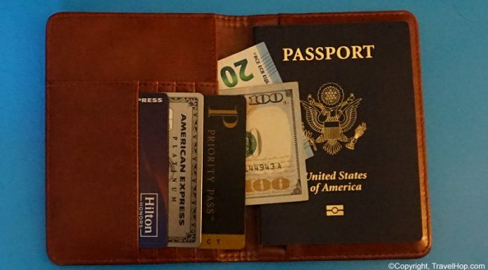 Lost Passport Wallet