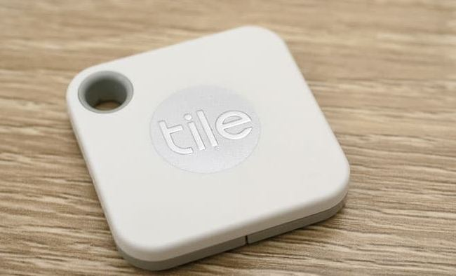 Tile Mate to find Lost Passport Wallet