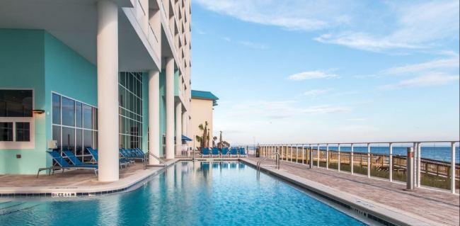 Panama City Beach - Hampton Inn and Suites Beachfront - Florida