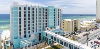Panama City Beach: Hampton Inn & Suites - Beachfront - Review - PCB - Florida