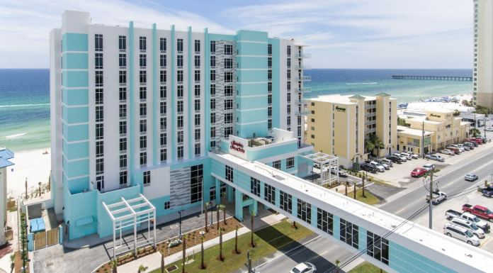 Panama City Beach: Hampton Inn & Suites - Beachfront - Review - PCB - Florida