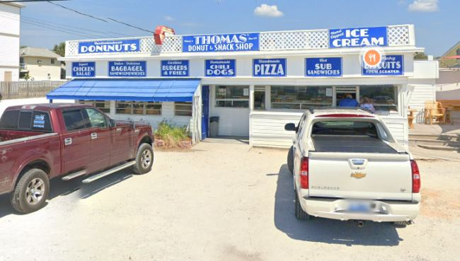 Panama City Beach: Thomas Donuts - Florida