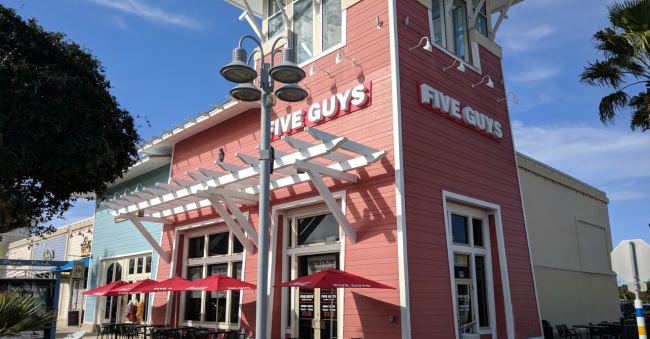 Five Guys Hamburgers - Pier Park - Florida