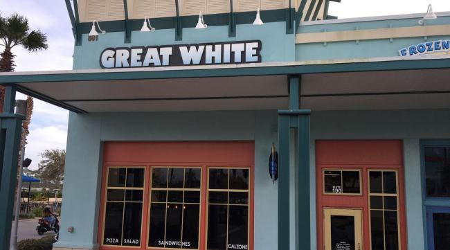 Panama City Beach - Great White Pizza - Florida