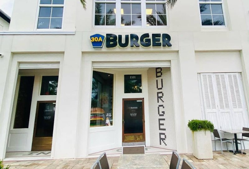 30A Burger - Rosemary Beach